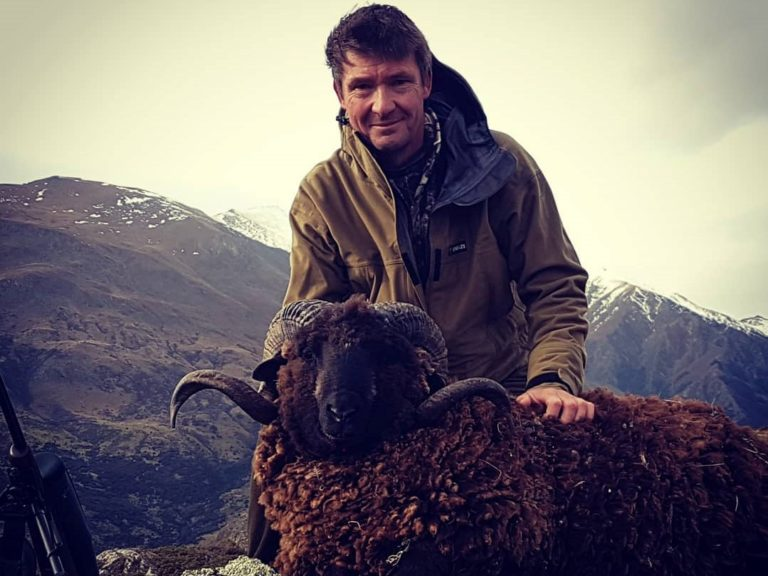 NZ arapawa ram hunting best New Zealand hunting guides