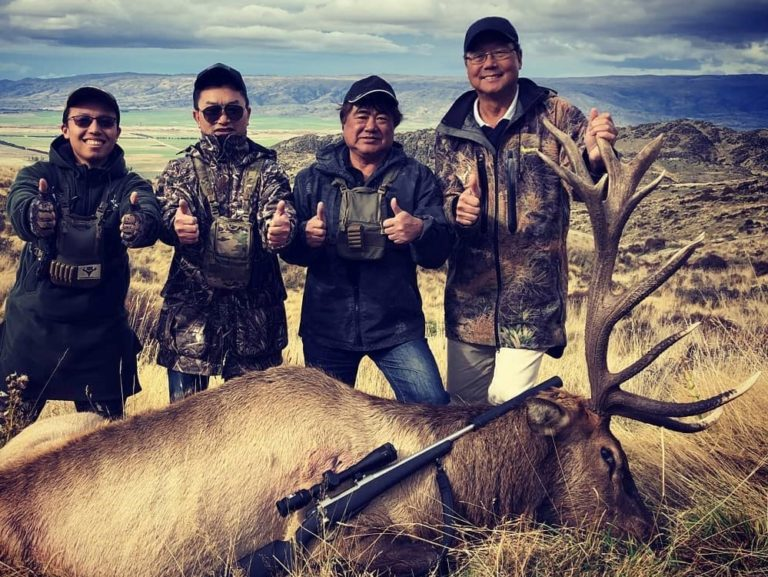 new zealand hunting South Island New Zealand red deer stag guided hunt Queenstown Christchurch Dunedin 7 3