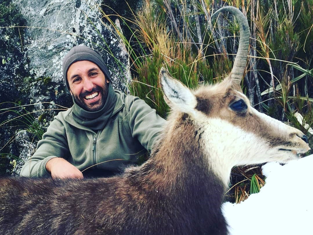 chamois hunting in new zealand Queenstown South Island hunting guides