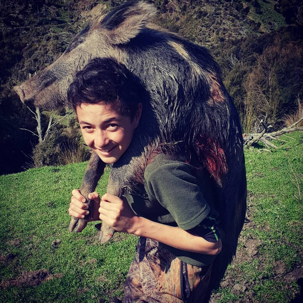 wild boar hunting Queenstown Wanaka Otago