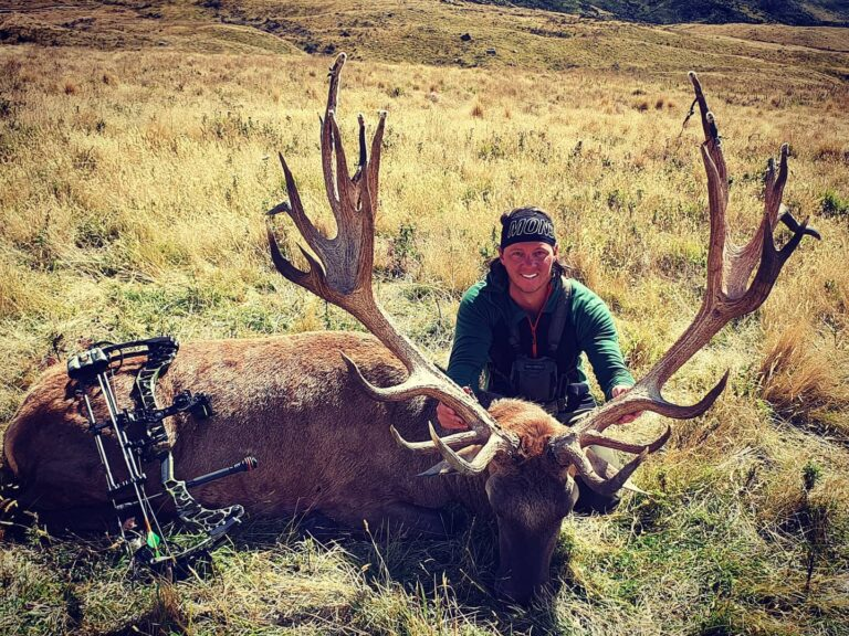 archery red stag hunting new zealand Queenstown South Island