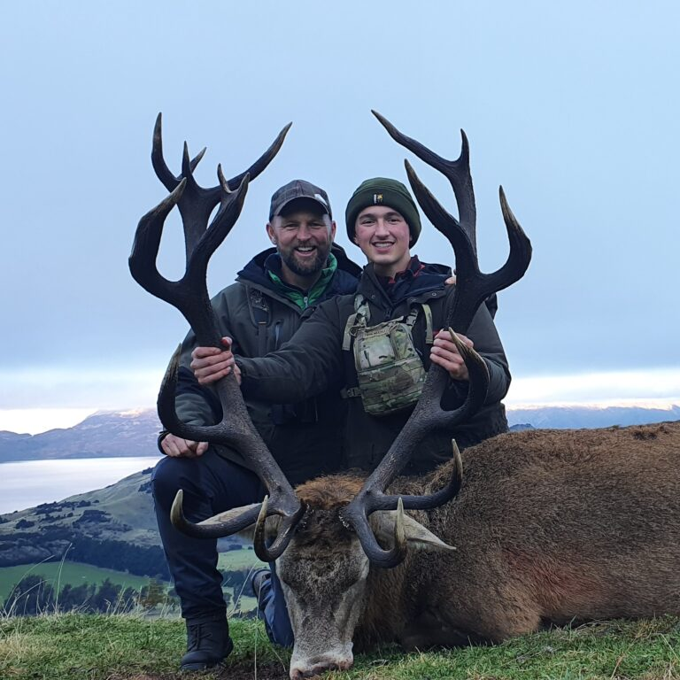 Wanaka New Zealand Red Stag hunting