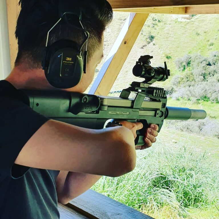 wanaka gun range rifle shotgun shooting