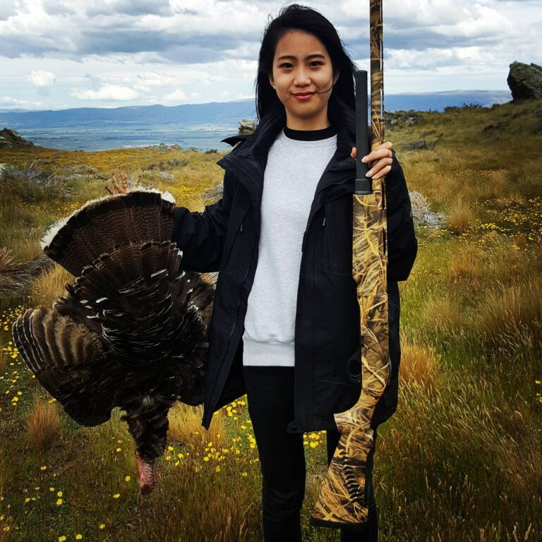 turkey hunt in new zealand