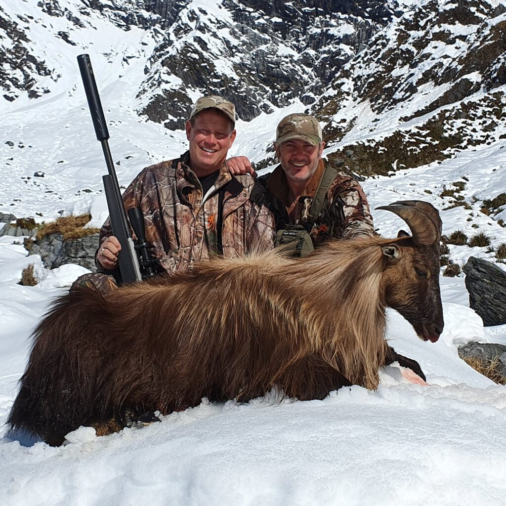 south island tahr hunt outfitter hunting adventures