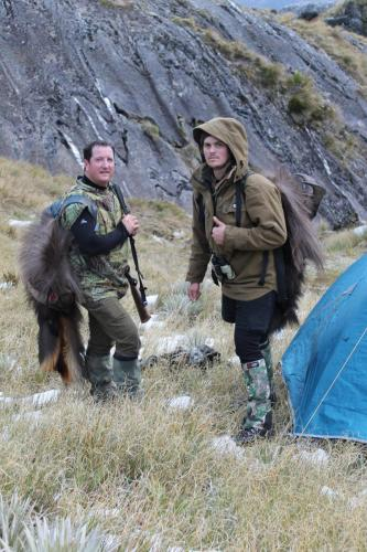 Bull Tahr Hunting in New Zealand - Wilderness hunting at it's very best